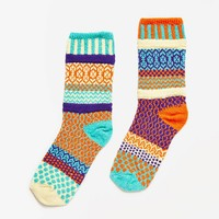 Solmate Socks Cosmos Crew Sock - Urban Outfitters