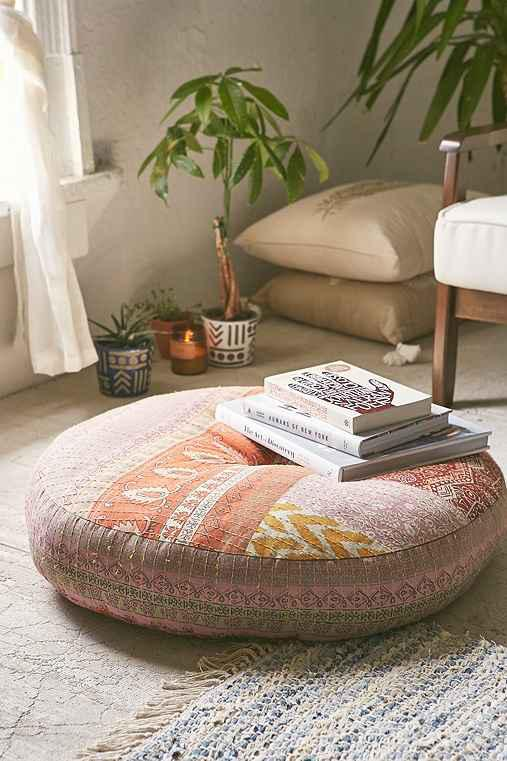 magical thinking adar floor pillow from urban outfitters. Black Bedroom Furniture Sets. Home Design Ideas