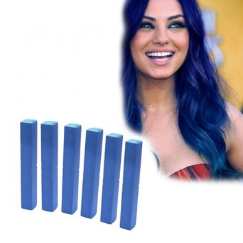 BLUE DEPTHS - 6 Dark Blue Hair Dye | HairChalk