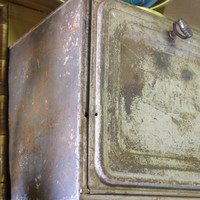 Rustic antique pie safe