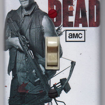 Walking Dead Light Switch Cover Plate - Daryl Dixon