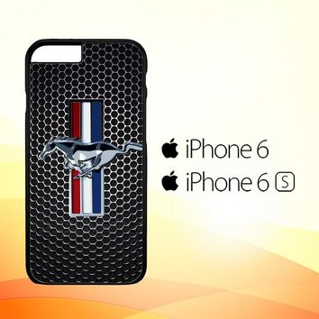 FORD MUSTANG CARBON FIBER Z4267 iPhone 6|6S Case