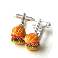 Sub Sandwich Cuff links