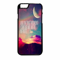 Perks Of A Wall Flower Quote Design Vintage Retro iPhone 6 Plus Case