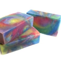 Citrus Hippie Vegan Soap Bar Natural Skin Care Artisan Swirl Soap