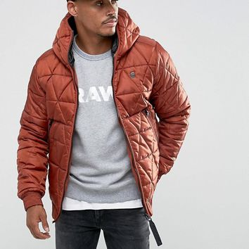 G-Star Strett Utility Hooded Jacket at asos.com