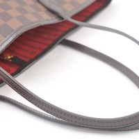 Authentic Louis Vuitton Damier Neverfull MM Tote Bag N51105 LV 43661