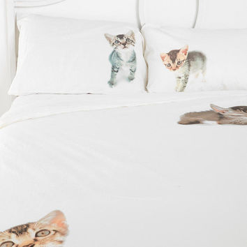 Urban Outfitters - Flat Cat Duvet Cover