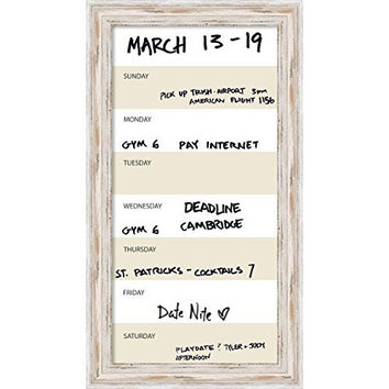 Framed Dry Erase Board Vertical Panel