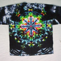 Tie Dye Kaleidoscope Night Size Large