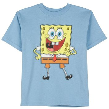 SpongeBob SquarePants Greetings Tee - Boys