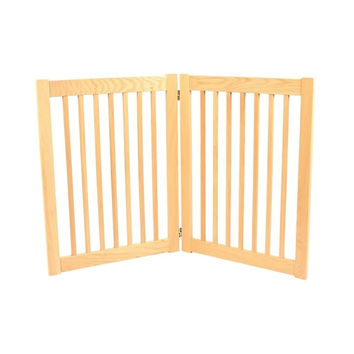 Dynamic Accents Legacy 2 Panel Freestanding Outdoor Foldable Pet Safety Gate