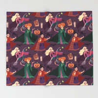 The Witch is Back! Throw Blanket by marianaavilal