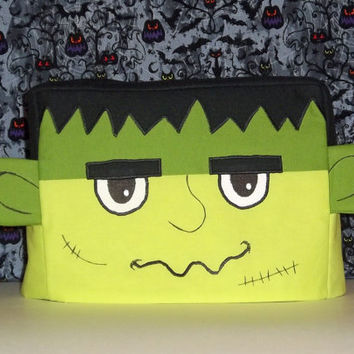 Frankenstein Toaster Cover, Halloween Toaster Cover, Two Slice Toaster Cover