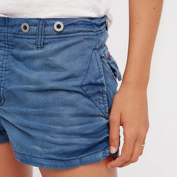 Free People Boyfriend Herringbone Short