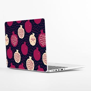 Garnet Splash Laptop Skin