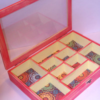 Moroccan Style Shabby Jewelry Box by StrictlyCute on Etsy