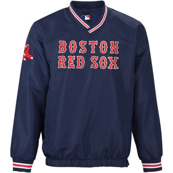 Boston Red Sox Stop and Go Pullover Jacket – Navy Blue