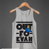 Out Forever-Unisex Silver Tank