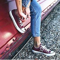 Converse Fashion Canvas Flats Sneakers Sport Shoes-2