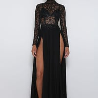 Amrezy Black Dress