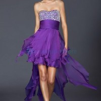 Strapless Satin Beading Ruched Floor-length Evening Dress : dressoutletstore.co.uk, Wedding Dresses Outlet