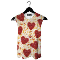 Pizza Hearts Muscle Tank