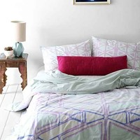 Magical Thinking Zihna Galaxy Duvet Cover- Blue