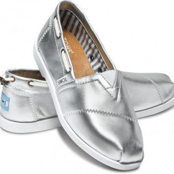 Silver Leather Women's Nautical Biminis