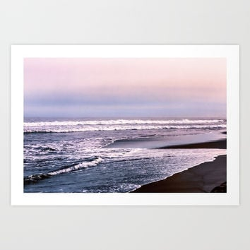 Northern beach Art Print by Svetlana Korneliuk