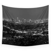 Society6 LA Lights No. 2 Wall Tapestry