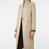 ALLSAINTS US: Womens Odile Coat (SAND BROWN)