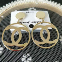 Chanel new round earrings