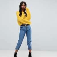 ASOS Cropped Oversized Sweater at asos.com