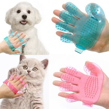 Pet Massage Glove Brush For Dog and Cat