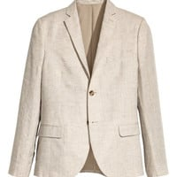 H&M Linen Blazer Slim fit $79.99