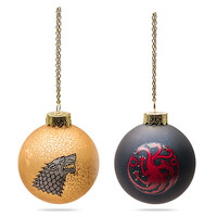Game of Thrones Ball Ornaments - Targaryen