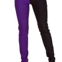 Night After Night [Black/Purple] | TROUSERS