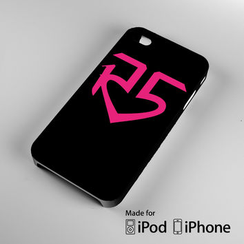 R5 Band Logo A0743 iPhone 4 4S 5 5S 5C 6, iPod Touch 4 5 Cases