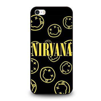 NIRVANA SMILEY COLLAGE iPhone SE Case Cover