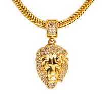 Jewelry Gift Stylish New Arrival Shiny Pendant Hip-hop Accessory Necklace [10210219011]