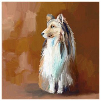 Best Friend - Shetland Sheepdog Wall Art