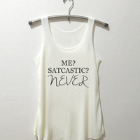 me sarcastic never tank top shirt tumblr quote t shirts with sayings women shirt girl t shirt design Vintage Style
