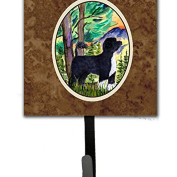 Caroline's Treasures SS8429SH4 Portuguese Water Dog Leash Holder or Key Hook, Small, Multicolor