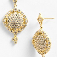 Women's Freida Rothman 'Mercer' Pave Drop Earrings