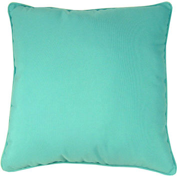 "Sunbrella Aruba Pillow Indoor/Outdoor Pillow, 18"" x 18"""