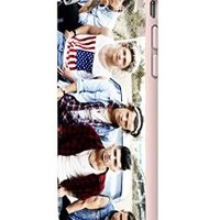 One Direction Cool Photo Megazine 2 Custom Case for Iphone 5/5s Iphone 6/6 Plus Black and White (iPhone 6 White Plastic)