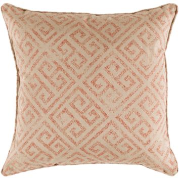 Geonna Pillow ~ Burnt Orange