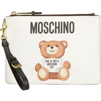 Moschino Small Fantasy Bear Clutch | Nordstrom