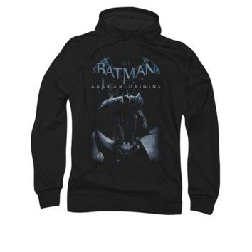 Batman Arkham Origins Perched Cat Licensed Adult Pullover Hoodie